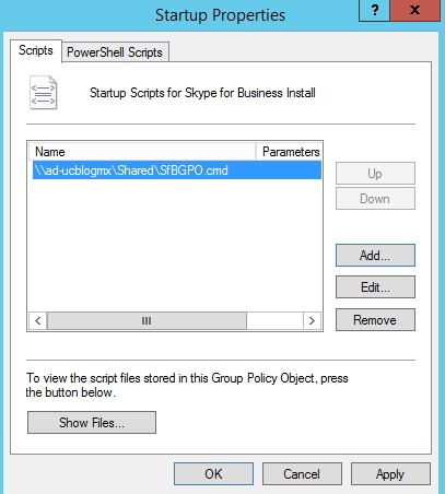 Deploy Skype for Business Client vía GPO – UC Blog MX