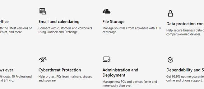 Microsoft 365 = Office 365, Windows 10, and Enterprise